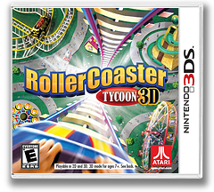 RollerCoaster Tycoon 3D 3DS cover (AC8E)