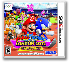 Mario & Sonic at the London 2012 Olympic Games 3DS cover (ACME)