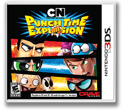 Cartoon Network - Punch Time Explosion 3DS cover (ACNE)