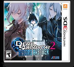Shin Megami Tensei - Devil Survivor 2 - Record Breaker 3DS cover (ADXE)