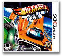 Hot Wheels - World's Best Driver 3DS cover (AEAE)