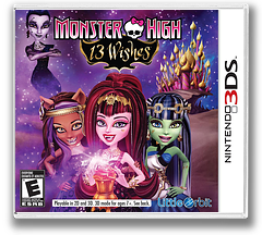 Monster High - 13 Wishes 3DS cover (AEFE)