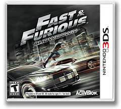 Fast & Furious - Showdown 3DS cover (AFHE)