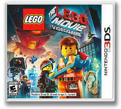 The LEGO Movie Videogame 3DS cover (AFJE)