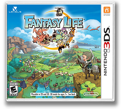 Fantasy Life 3DS cover (AFLE)