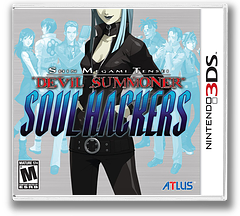 Shin Megami Tensei - Devil Summoner - Soul Hackers 3DS cover (AHQE)