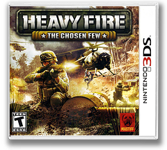Heavy Fire - The Chosen Few 3DS cover (AHVE)