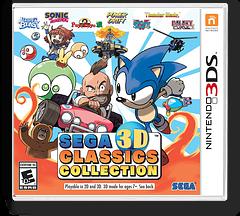 Sega 3D Classics Collection 3DS cover (AK3E)