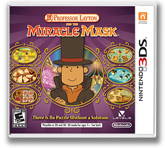 Professor Layton and the Miracle Mask 3DS cover (AKKE)