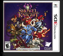 Shovel Knight 3DS cover (AKSE)