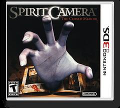 Spirit Camera - The Cursed Memoir 3DS cover (ALCE)