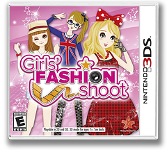 Girls' Fashion Shoot 3DS cover (ANLE)