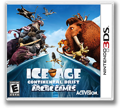 Ice Age - Continental Drift - Arctic Games 3DS cover (AQLE)