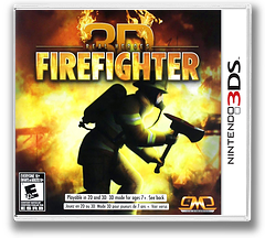 Real Heroes - Firefighter 3D 3DS cover (ARHE)