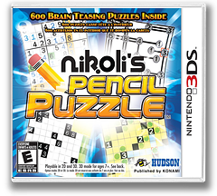 Nikoli's Pencil Puzzle 3DS cover (AS9E)