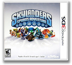 Skylanders - Spyro's Adventure 3DS cover (ASPE)