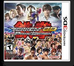 Tekken 3D - Prime Edition 3DS cover (ATKE)