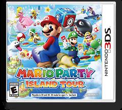 Mario Party - Island Tour 3DS cover (ATSE)