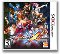 Project X Zone 3DS cover (AXXE)