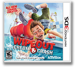 Wipeout - Create and Crash 3DS cover (AY8E)