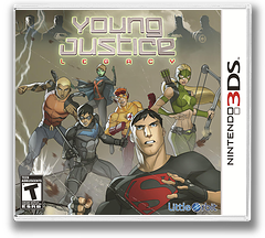 Young Justice - Legacy 3DS cover (AYJE)