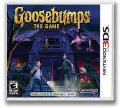 Goosebumps - The Game 3DS cover (BBME)