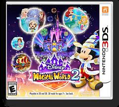 Disney Magical World 2 3DS cover (BD2E)
