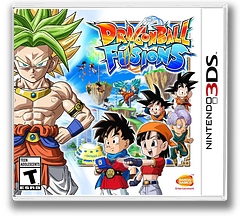 Dragon Ball Fusions 3DS cover (BDLE)