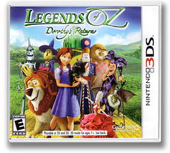 Legends of Oz - Dorothy's Return 3DS cover (BDTE)