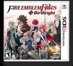 Fire Emblem Fates - Birthright 3DS cover (BFXE)