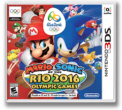 Mario & Sonic at the Rio 2016 Olympic Games 3DS cover (BGXE)