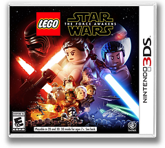 LEGO Star Wars: The Force Awakens 3DS cover (BLWE)