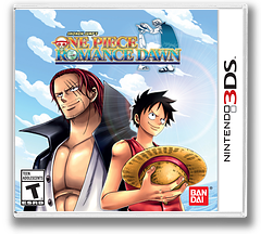 One Piece - Romance Dawn 3DS cover (BRDZ)