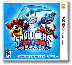 Skylanders Trap Team 3DS cover (BS9E)