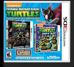 Teenage Mutant Ninja Turtles - Master Splinter's Training Pack 3DS cover (BTNE)