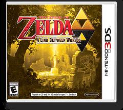 The Legend of Zelda - A Link Between Worlds 3DS cover (BZLE)