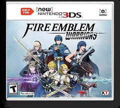 Fire Emblem Warriors New3DS cover (CFME)