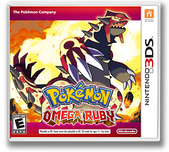 Pokémon Omega Ruby 3DS cover (ECRE)