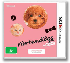 Nintendogs + Cats - Toy Poodle & New Friends 3DS cover (ADCP)