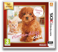Nintendogs + Cats - Toy Poodle & New Friends pochette 3DS (ADCP)