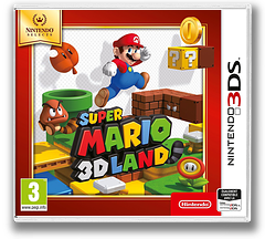 Super Mario 3D Land pochette 3DS (AREP)