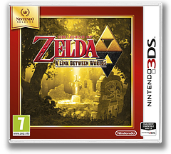 The Legend of Zelda - A Link Between Worlds pochette 3DS (BZLP)