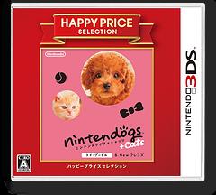 nintendogs + cats トイ・プードル & Newフレンズ 3DS cover (ADCJ)