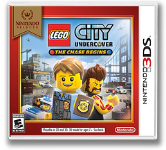 LEGO City Undercover - The Chase Begins 3DS cover (AA8E)
