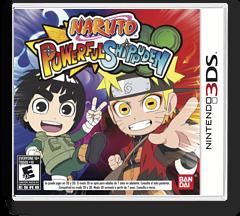 Naruto Powerful Shippuden 3DS cover (AN4E)