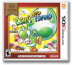 Yoshi's New Island 3DS cover (ATAE)