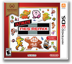 Ultimate NES Remix 3DS cover (BFRE)