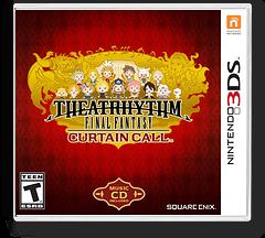 Theatrhythm Final Fantasy - Curtain Call 3DS cover (BTHE)