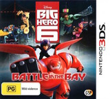 Big Hero 6 - Battle in the Bay 3DS cover (BH6P)