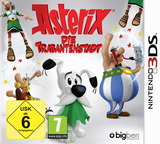 Asterix - The Mansions of the Gods 3DS cover (BMNP)